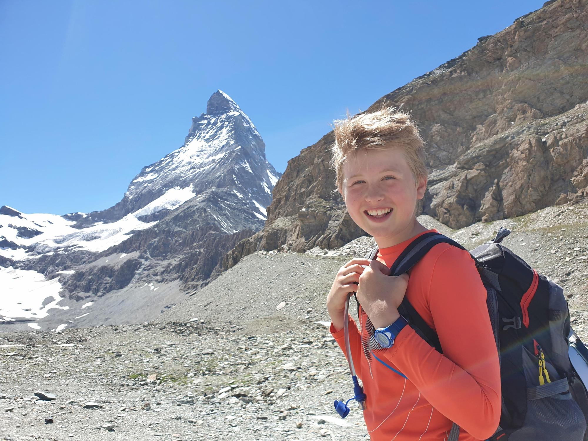 Edinburgh boy, 11, becomes youngest person to climb Matterhorn