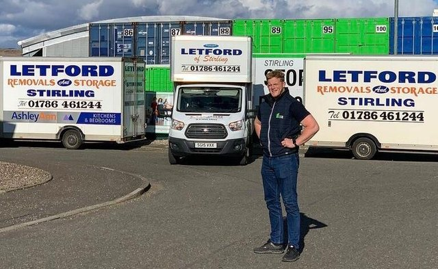 On the move: Neil Adam Sinclair