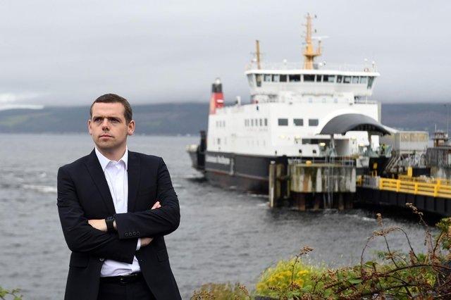 Douglas Ross confirmed that a timeline for a vote of no confidence in the First Minister would soon be announced (Getty Images)