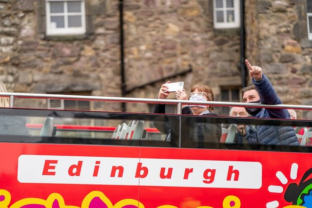 Edinburgh Bus Tours are hoping to see locals take advantage of the chance to rediscover the city on tours like their CitySightseeing Tour (pictured).