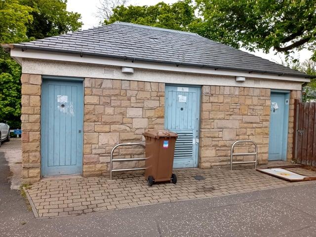Colinton public toilets do not fit with the council's future plans