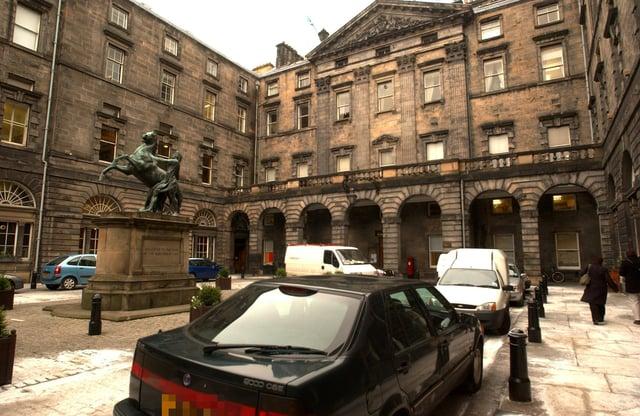 The City Chambers in Edinburgh