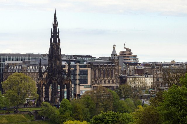 The firm sees Edinburgh as one of Britain's most vibrant cities to recruit for technical expertise. Picture: Ian Georgeson.