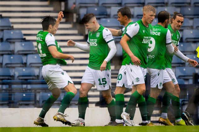 Hibs had more to celebrate than just a win at Hampden on Saturday