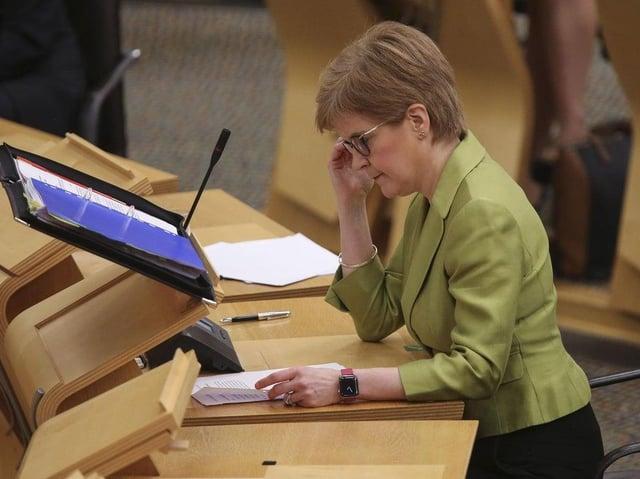 Nicola Sturgeon has said the Scottish Government is investigating the issue
