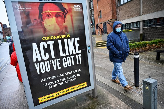 Latest coronavirus figures in Scotland (Photo by Jeff J Mitchell/Getty Images).