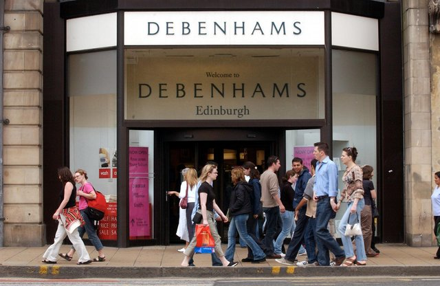 It was announced in January that Debenhams in Edinburgh would close for good, but regeneration plans could see it turned into a hospitality hub