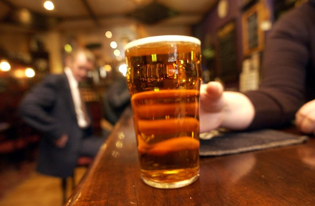 Covid restrictions easing in Edinburgh pubs has sparked a wave of abuse, one pub manager said. Picture: general pub scene.