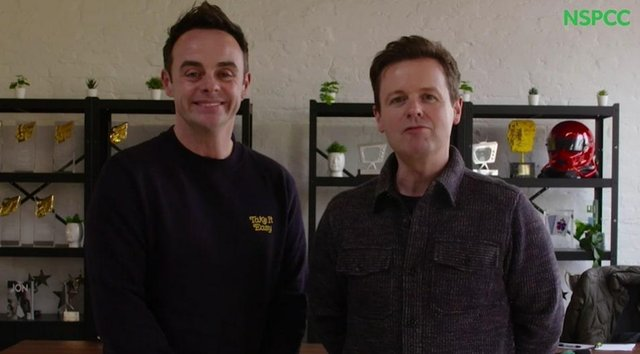 TV duo Ant and Dec are hosting the programmeto help children learn about their right to be safe from abuse and neglect (Photo: NSPCC).