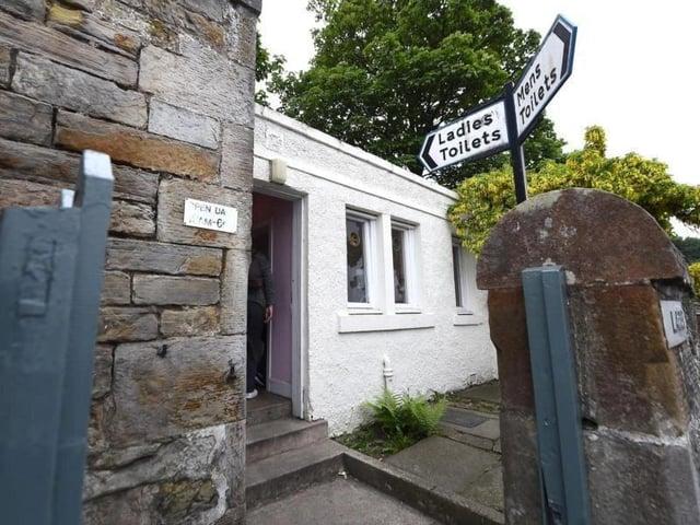 Facing permanent closure: Colinton public toilets