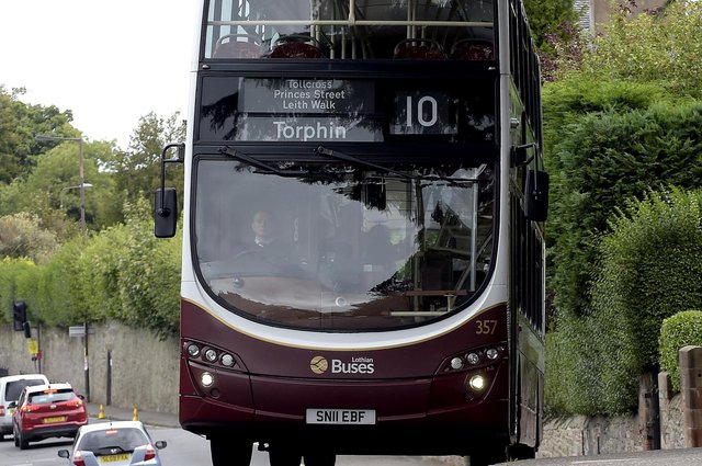 Lothian Buses is mostly owned by Edinburgh City Council (Picture: Lisa Ferguson)