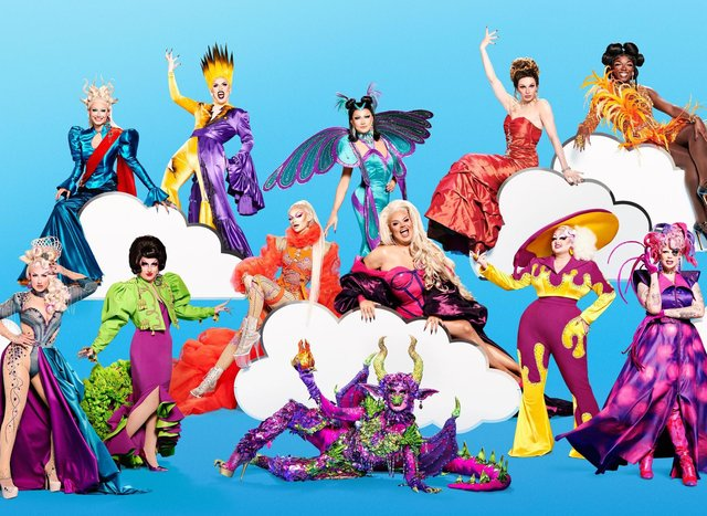 RuPaul's Drag Race UK's series three Queens have been revealed (BBC)