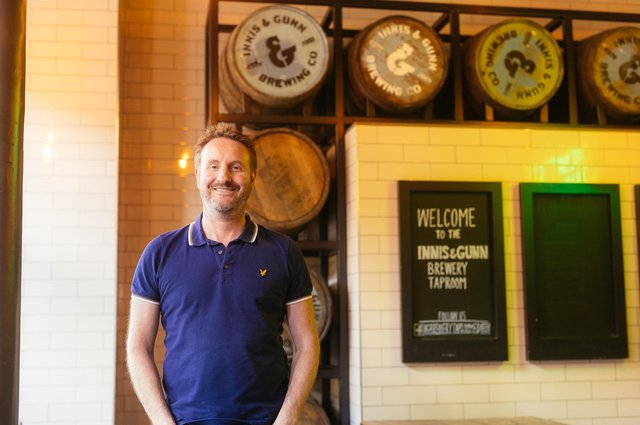 Innis & Gunn founder Dougal Gunn Sharp: 'We have continued to innovate and invest in the business over the last year and it is really paying off'