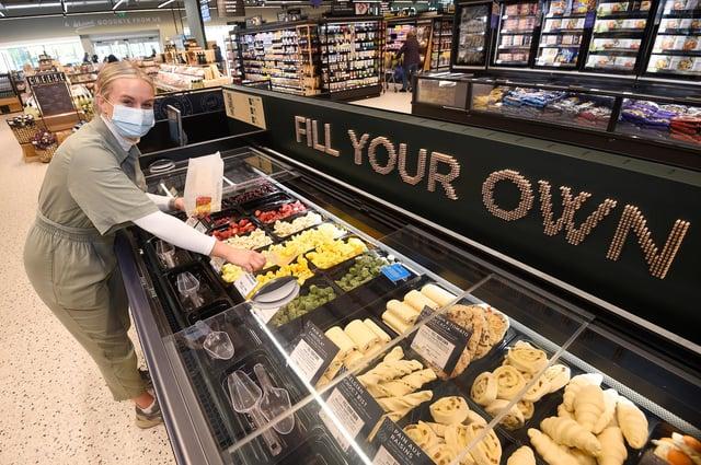 Edinburgh M&S Gyle reopens PIC: Greg Macvean