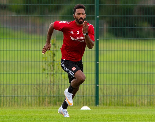 Logan fell out of favour at Pittodrie with a change in shape. Picture: SNS