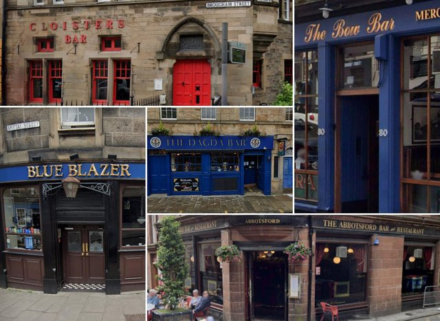 Here are 10 of our favourite Edinburgh pubs who made it into this year's CAMRA Good Beer Guide