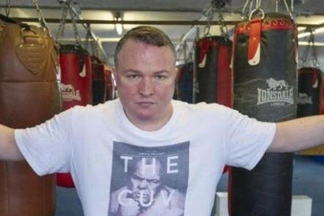 Shot in the face: Bradley Welsh