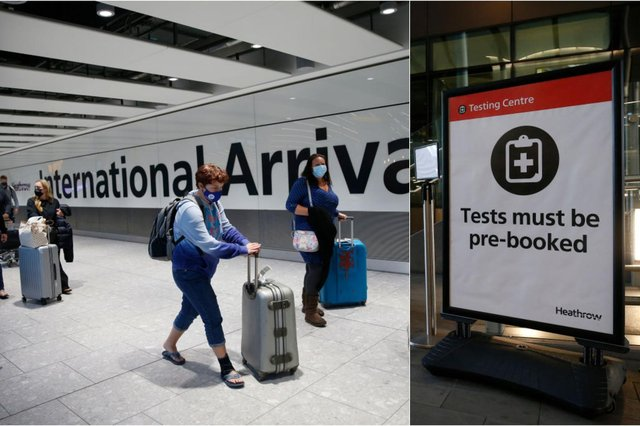 Holidaymakers will need to order a PCR test from a provider before travel (Photo: Getty Images)