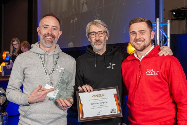 North Brewing Co in Leeds scooped the coveted Brewing Business of the Year award at the SIBA Business Awards 2020