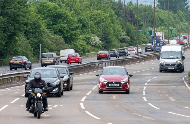 The work on the bypass will begin on Sunday March 21 and will lead to overnight carriageway closures (Photo: Ian Georgeson).