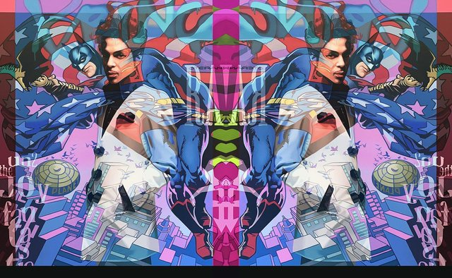 Prince is among the stars who has been depicted by artist Stuart McAlpine Miller.