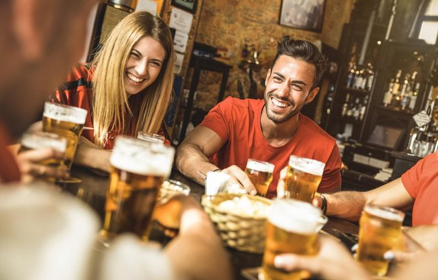 Pubs and bars were asked to close by the Government, but can still be open for takeaway.
