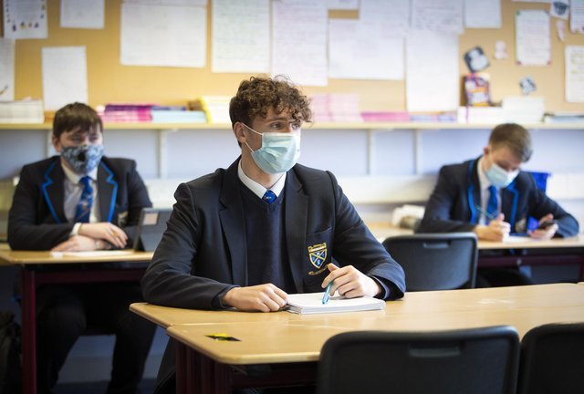 The Scottish Government has pledged to look at exams in the senior phase of high school