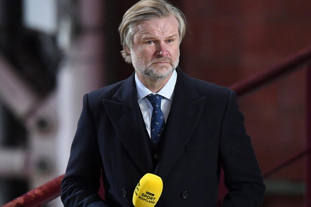 Former Hearts defender Steven Pressley - pictured on recent pundit duties at Tynecastle - has returned to coaching with Brentford. (Photo by Ross Parker / SNS Group)