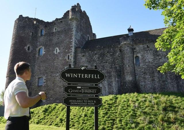 Out of bounds: Doune Castle