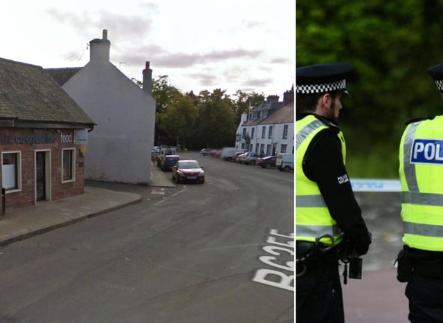 Duns Road: Two men assaulted and car window smashed during incident in East Lothian village shop