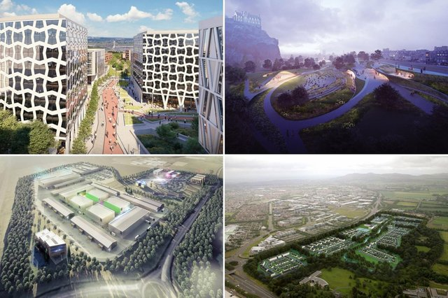 A few of the Edinburgh developments that could be making the headlines in the coming years.