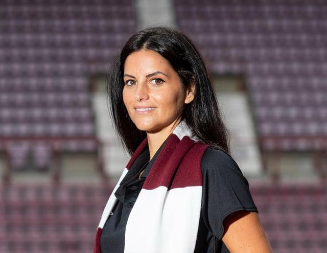 Eva Olid is the new Hearts women's coach.