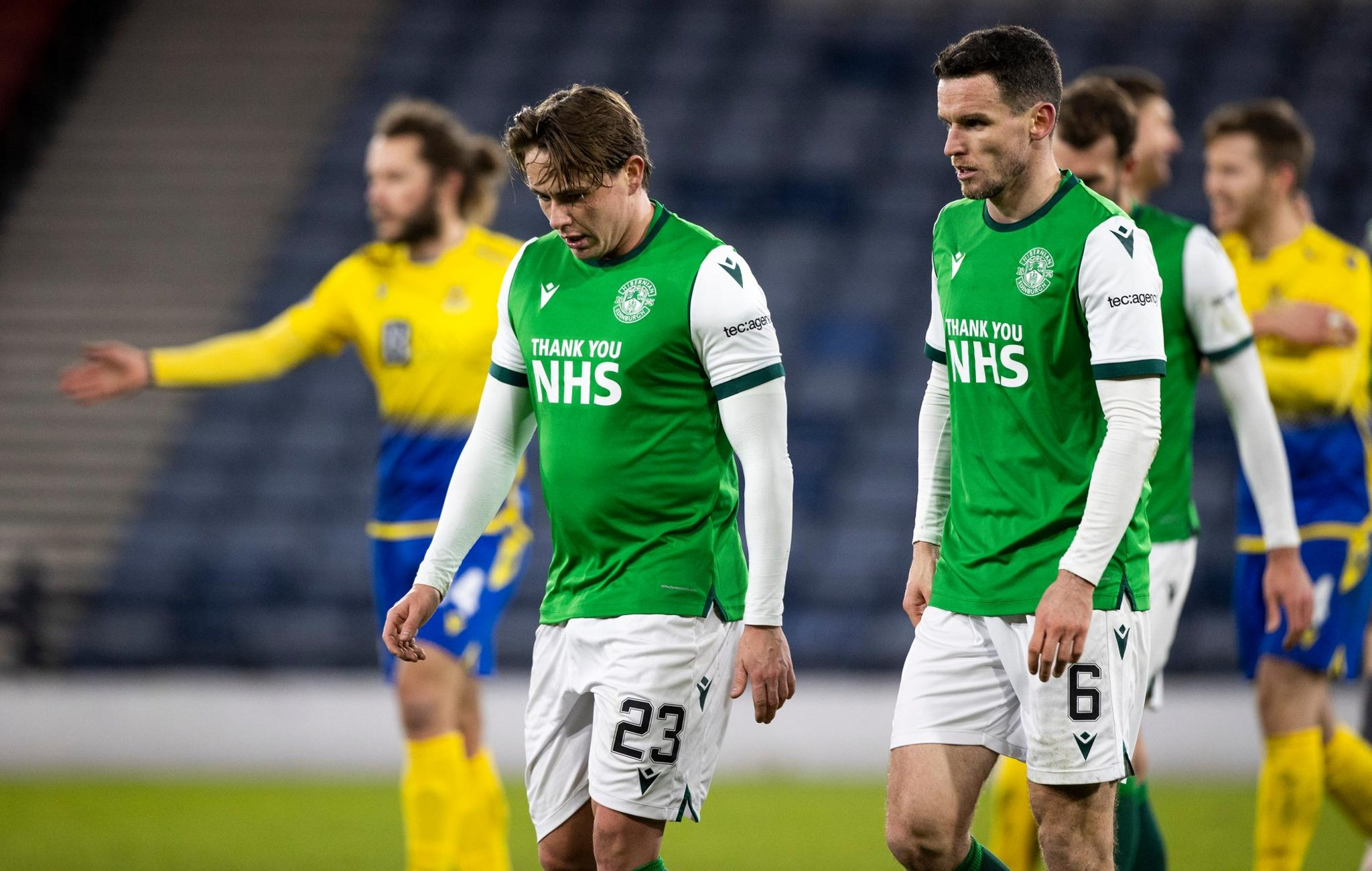 'Lottery-style team and tactics each week'; 'Not surprised just disappointed' - Hibs fans react to grim Hampden loss