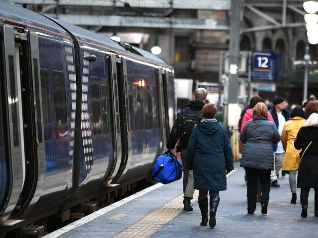 ScotRail say CCTV cameras can prove where a passenger's journey began - and then it's an easy task to work out how much they owe.