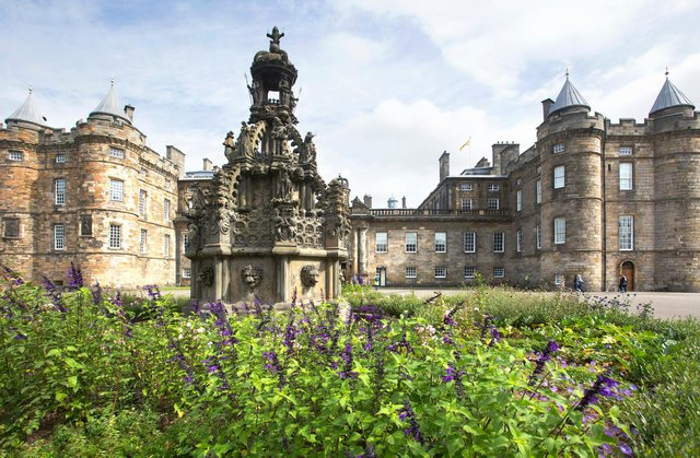 Both the garden and the Learning Centre have been created as part of Future Programme, a major programme of investment at the Palace of Holyroodhouse by The Royal Collection Trust.