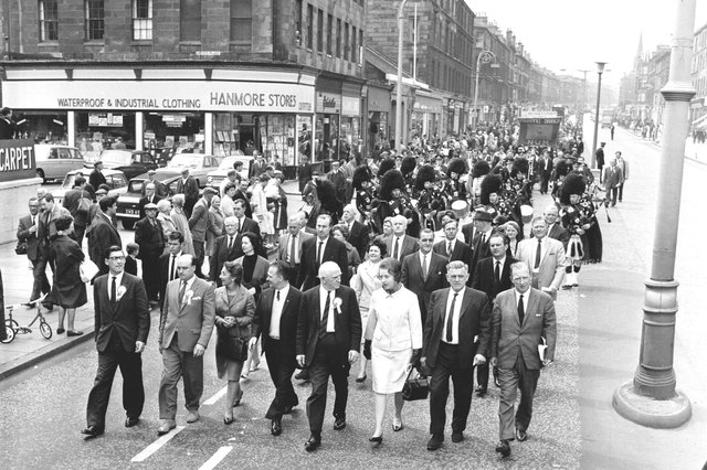 Leith way back when in the 1950s and 1960s (Photo by Albert Jordan)