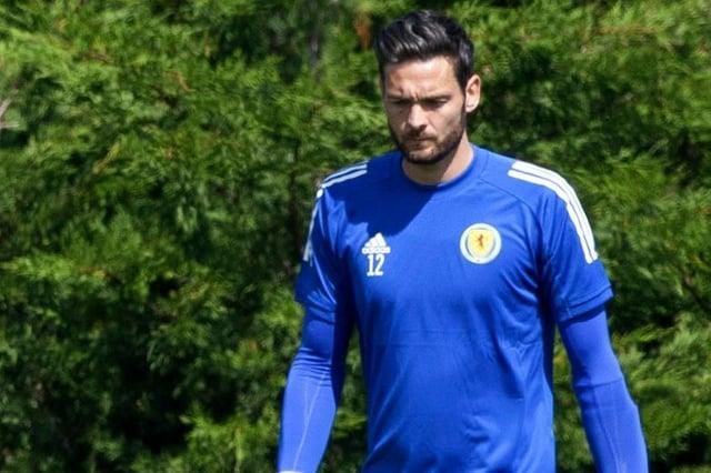 Craig Gordon was an unused substitute in Scotland's Euro 2020 ties.