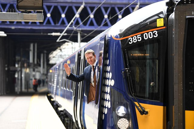 ScotRail is reminding customers to check their journey before travelling as the number of trains running on the network from tomorrow (May 17) is increased.