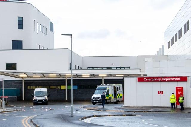 The emergency department at Edinburgh Royal Infirmary