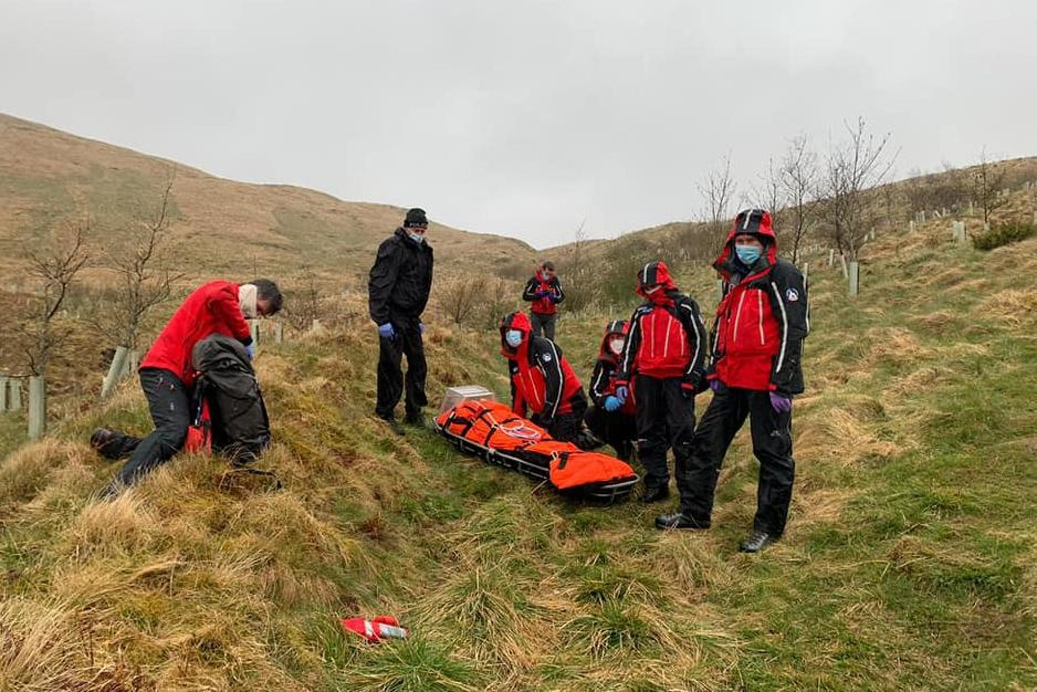 Rescue team uses phone technologyto locate injured walker in Moffat Hills