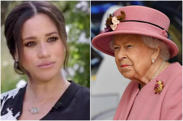 Meghan has been accused of bullying members of Kensington palace staff, Buckingham palace will now investigate the claims (Picture: CBS/Getty Images)