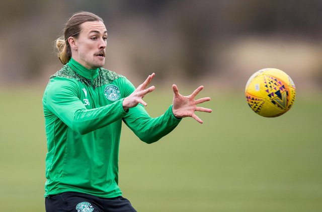 Jackson Irvine has opened contract talks with Hibs over a possible extended deal (Photo by Ross Parker / SNS Group)