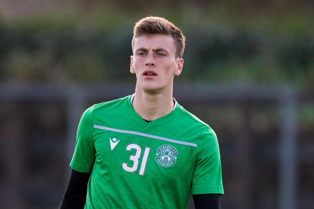 Paddy Martin has been impressing in goal for Stenhousemuir