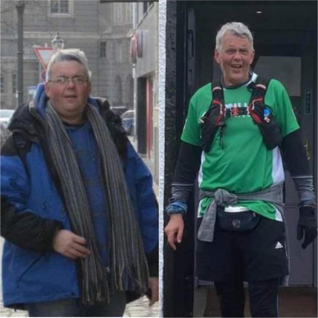 Graeme Sneddon said working on his health was about more than loosing weight.