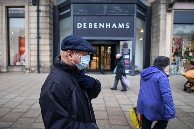 Plans to redevelop the Debenhams building in Princes Street have been unveiled
