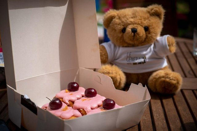 Businesses have been raising funds for the Teddy Bears' Picnic Campaign throughout July.