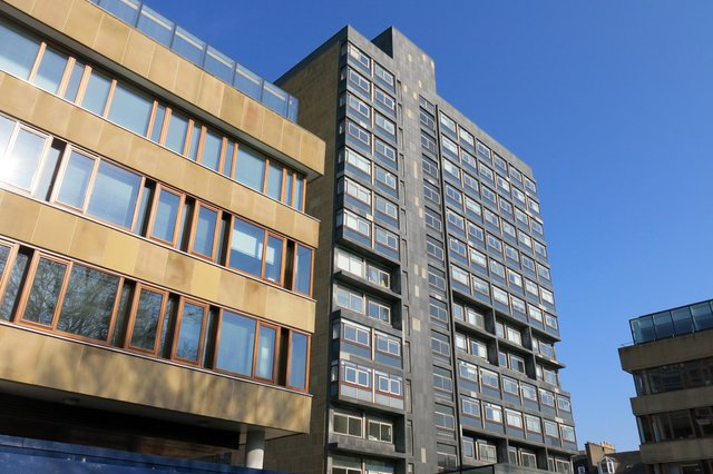 David Hume Tower is one of Edinburgh University's most prominent building