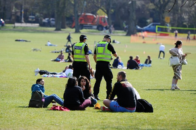 Additional police resources have been brought in on the Meadows in recent weeks.