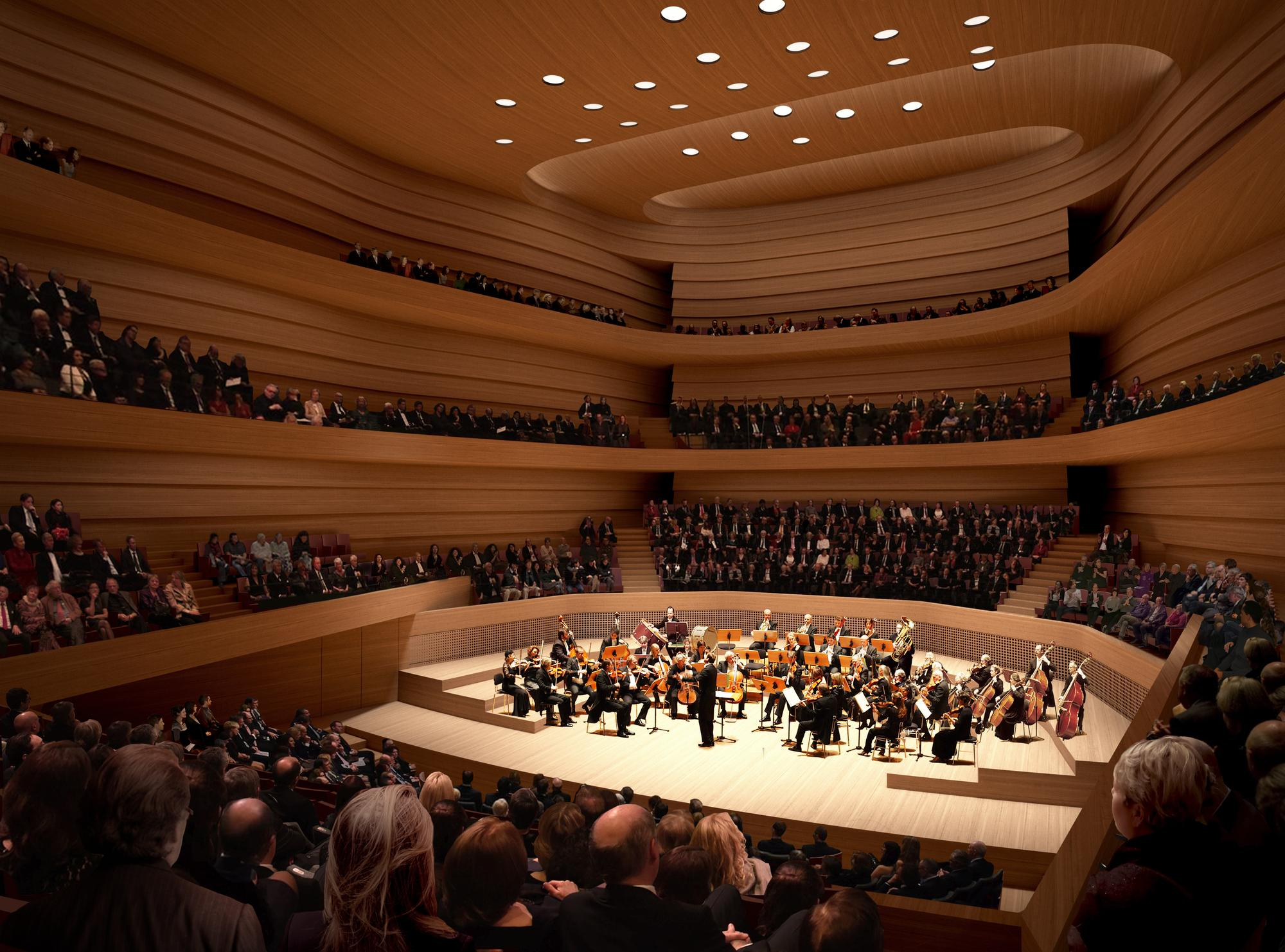 Edinburgh concert hall chief quits months after project is sent back to the drawing board