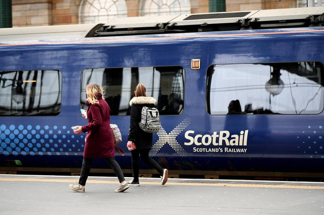 Sponsoring the outside of carriages is being considered by ScotRail. Picture: John Devlin